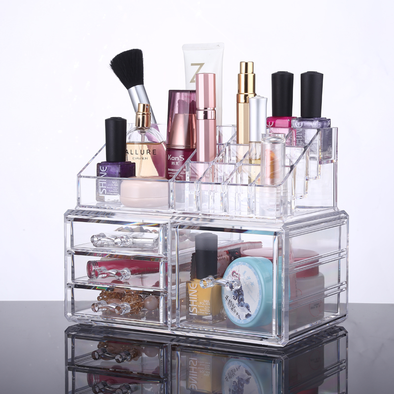 Органайзер для косметики Cosmetic Storage Box купить в megaholl.ru