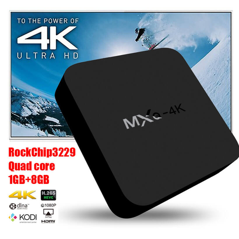 Смарт приставка OTT TV Box MXQ 4K m