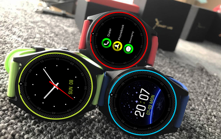 Умные часы Smart Watch V9 Quad Band Green варианты