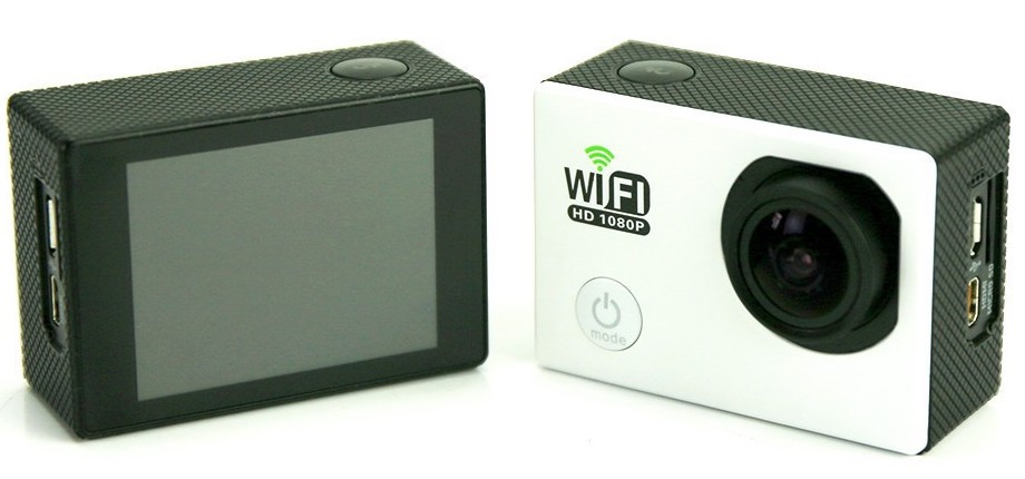 ÐкÑн камеÑа SJ6000 Full HD 1080P WiFi Waterproof. ЧеÑÐ½Ð°Ñ Ð¿ÐµÑед и зад