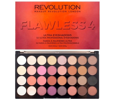 Палетка теней Revolution Ultra Eyeshadow Flawless 4
