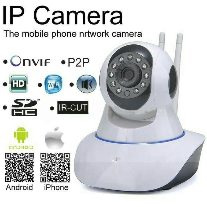 Фото Видеокамера IP CAMERA CCTV P2P ONVIF HD 720P WIFI  купить в Megaholl.ru