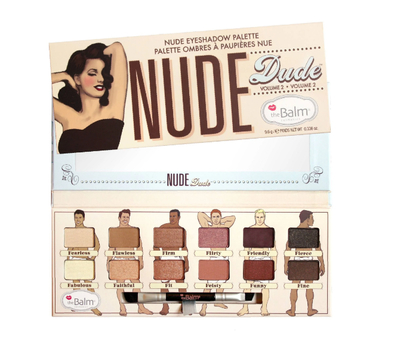 Палетка теней Nude Dude The Balm