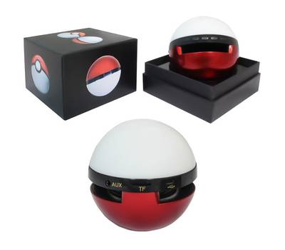 Bluetooth колонка pokemon go pokeball