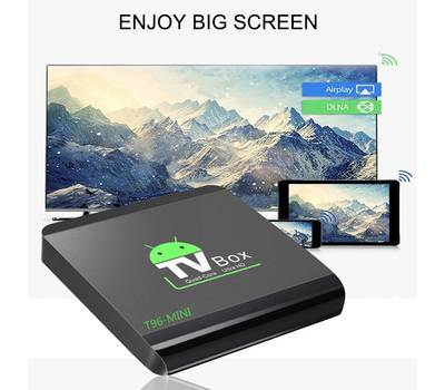Приставка Android Smart TV T96 mini
