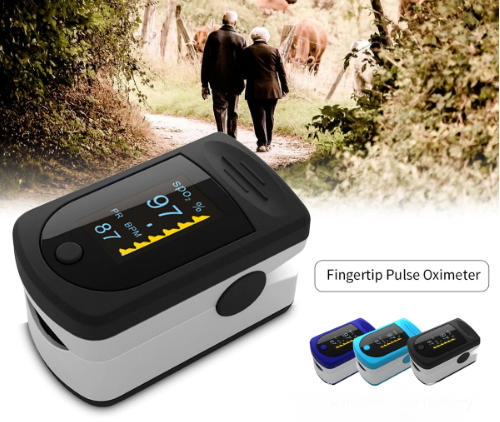 Пульсоксиметр Fingertip Pulse Oximeter LED