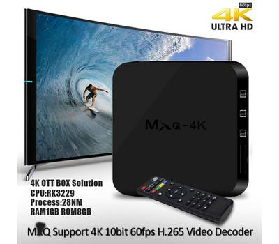 Смарт приставка для ТВ Android TV MXQ PRO 4k Android 5.1
