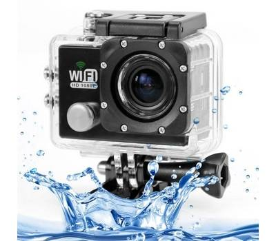 Экшн камера SJ6000 Full HD 1080P WiFi Waterproof Черная