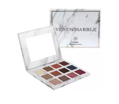 Палетка теней Venus Marble 12 color eyeshadow palette